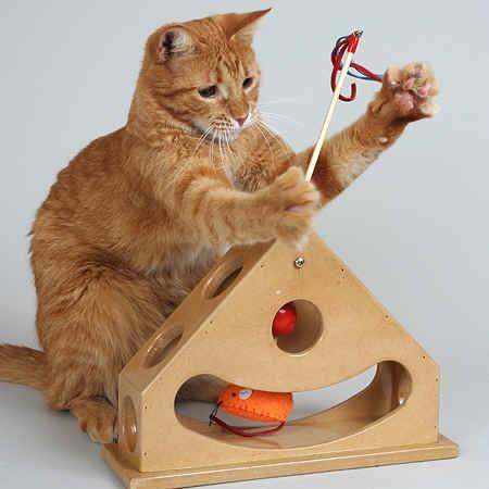 Velcro Cat Toy