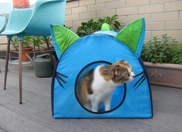 Tenda cuccia per gatti vanity farm - Cuccia per gatti ikea ...