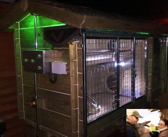 Casetta di lusso per due conigli inglesi vanity farm - Casetta per conigli ...